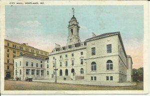 Portland, Maine, City Hall, White Border