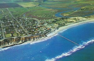Port Noarlunga Onkaparinga River Australia Aerial Postcard