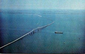 Florida Sunshine State Skyway Bridge On West Coast