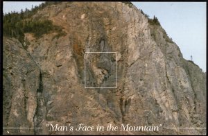 Newfoundland CORNER BROOK Man's Face in the Mountain - Cont'l