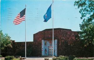 Bartlesville Oklahoma~Woolaroc Museum~Franks Phillips Ranch~1959 Postcard