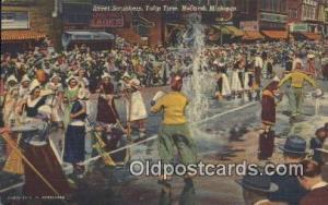 Tulip Time, Holland, Michigan, Usa Parade, Parades, Postcard Postcards  Tulip...