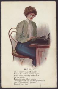 The Typist,Woman