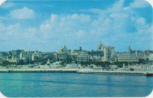 HAVANA - HABANA CUBA - Downtown view 1950s era PRE CASTRO