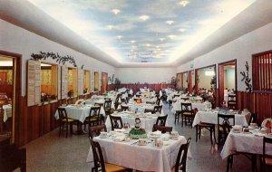 CA - El Centro. Knotty Pine Restaurant, Interior