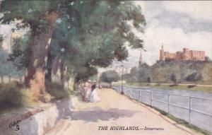 INVERNESS, Scotland, 1900-1910's; The Highlands