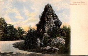 Michigan Mackinac Island Sugar Loaf Rock Curteich
