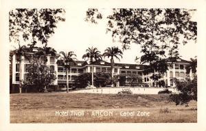 Ancon Canal Zone Panama Hotel Tivoli Real Photo Antique Postcard (J32892)