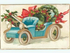 Divided-Back CHRISTMAS SCENE Great Postcard W8806