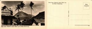 CPA INDONESIA Oost-Java Gezicht vanuit Batoe op de Kawi Goenoeng (392389)