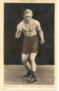 #2039 Johnny Summers Boxing Series Postcard Postcards  #2039 Johnny Summers