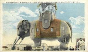 Elephant Hotel Atlantic City NJ 1920