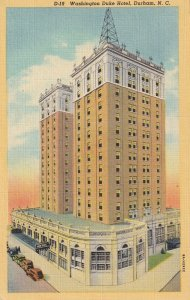DURHAM, North Carolina, 1930-1940s; Washington Duke Hotel
