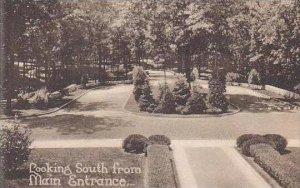 Missouri Clayton Villa Duchesne Looking South From Main Entrance Albertype