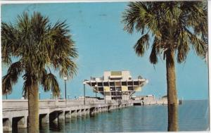 ST. PETERSBURG'S MUNICIPAL PIER, 1975 used Postcard