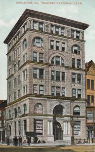 SCRANTON, Pennsylvania, 00-10s ; Traders National Bank