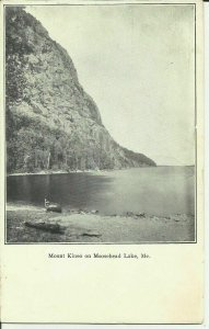 Moosehead Lake, Me., Mt. Kineo