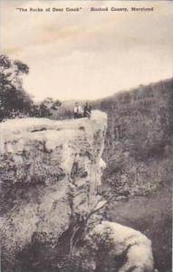 Maryland Harford County The Rocks of Deer Creek Albertype