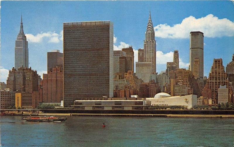 B66664 United Nations Headquarters Building    usa