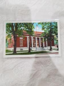 Antique/Vintage Postcard, M. E. Church, Napoleon, Ohio