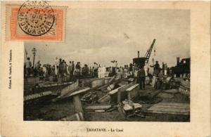 CPA TAMATAVE Le Quai MADAGASCAR (709630)