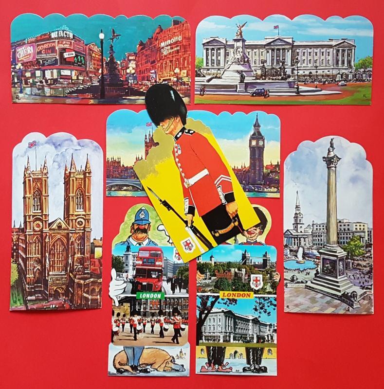 London England UK Postcards Post Card Postcard Bulk lot of 21 Very Popular