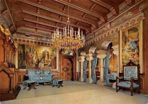 Koenigsschloss Neuschwanstein, Wohnzimmer, Royal Castle Living-Room