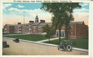 Portland, Me., New Deering High School, Deering District