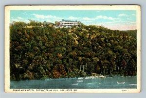 Hollister MO-Missouri, Grand View Hotel, Presbyterian Hill Vintage Postcard