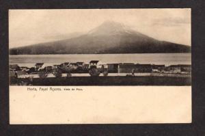 Azores Horta Fayal Acores Vista do Pico Postcard Bilhete Postal Portugal