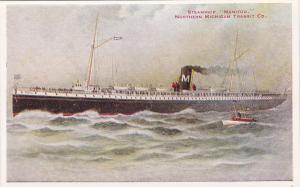 Steamship Manitou, Northern Michigan Transit Co., 1910-20s