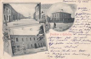 AUSTRIA, PU-1900; Pozdrav z Kozusan