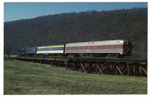 Potomac Eagle, Railway Train, South Branch Potomac River, Romney, West Virginia