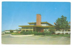 New Castle Delaware DE Tour-Inn Motel US 40 and 13 Postcard