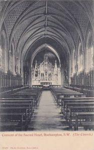 The Church, Convent Of The Sacred Heart, Roehampton, S. W., London, England, ...
