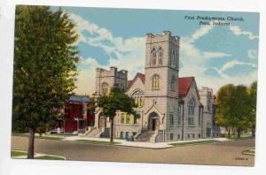 First Presbyterian Church, Peru, Indiana, 30-40s