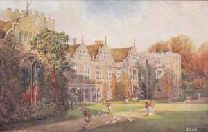 The South Front, KNOLE (Kent), England, UK, 1900-1910s