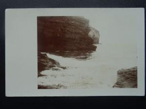 Cornwall TREBARWITH STRAND (1) - Old RP Postcard