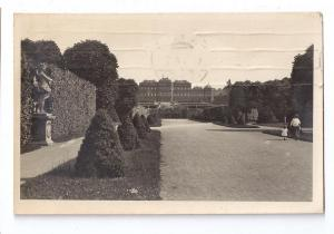 Austria Vienna Schloss Belvedere Castle RPPC Real Photo 1930