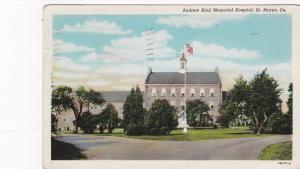 ST. MARYS, Pennsylvania, PU-1948; Andrew Kaul Memorial Hospital
