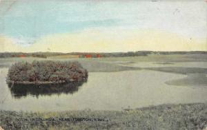 Fosston Minnesota Columbia Scenic View Vintage Postcard JD933444