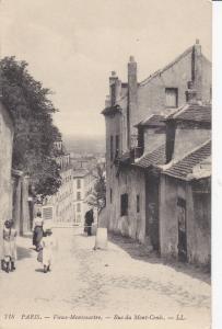 PARIS , France , 1900-10s ; Vieux-Montmarte.- Rue du Mont-Cenis