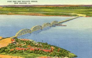 LA - New Orleans, Fort Pike and Rigolets Bridge