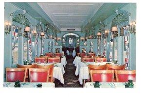 Steantown Railroad, Railway Train Interior, Diner Lounge, Bellows,  Vermont