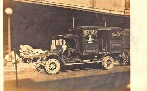 Indianapolis IN N. O'Connor & Co. Grocery Delivery Truck RPPC Postcard