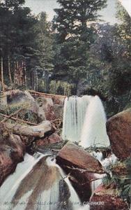 Minne Ha Ha Falls On Pikes Peak Colorado