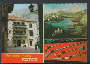 Montenegro Postcard - Kotor - Pomorski Muzej    T567