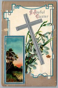 1911 c Easter  Post Card Cross pc8