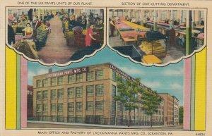 SCRANTON , Pennsylvania, 1930-40s ; Lackawanna Pants Mfg Company