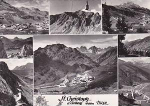 Austria St Christoph Am Arlberg Multi View Real Photo